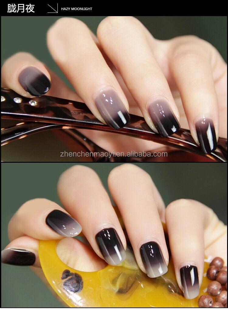 Temperature Change Color Uv Gel Nail Polish /gel Polish Change Color ...