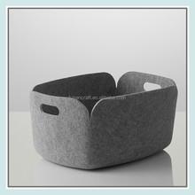 rectangular felt made tennis ball basket wholesale