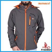 New arrivel men waterproof softshell jacket factory