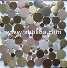 pebble stainless steel tile