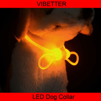 LDCS-05 cheap wholesale dog led cat collar DIY pet collar