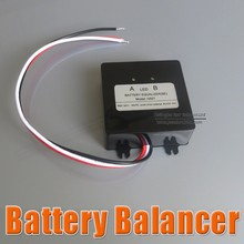 Battery equalizer 2 X 12V used for lead-acid batteris Balancer charger for 12V 24V 36V 48V Gel/Flood/AGM lead acid batteris