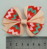 Factory supplier grosgrain Ribbon Hair Bow Hot sale