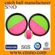 Velcro Catch Mitts throw and catch ball game set