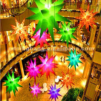 LED Creative inflatable Star for Club decoration