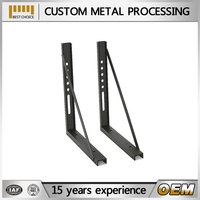 OEM fabrication steel brackets for timber