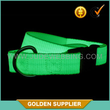 factory OEM best price safe glow in the dark dog collar