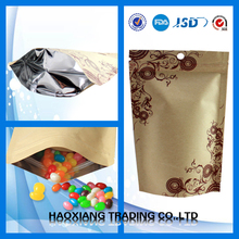 Resealable Stand Up Pouches Flexible Food Packaging Stock Stand Up Pouches