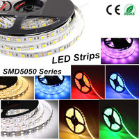 Factory Sale LED Strip, SMD5050 RGB Color Changeable LED Strip Lights, Single Color Flexible LED Light Strip with CE&RoHS