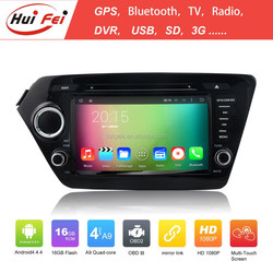 2015 China Wholesale RK3188 Quad-core Car DVD GPS 2 Din For Kia K2 With Android 4.4.4 System HuiFei