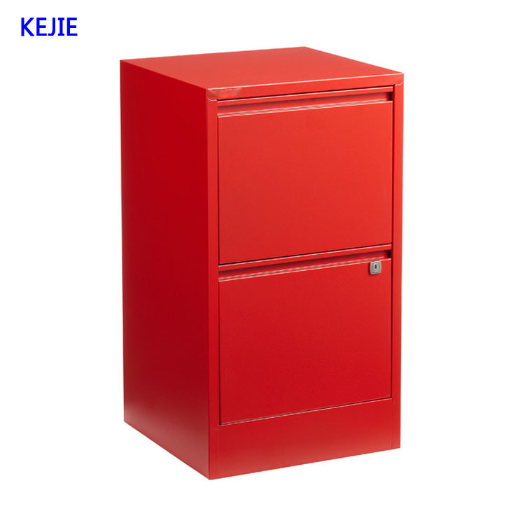 2 drawer steel file cabinet with lock 3