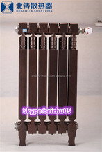 with side air flow/pillar-wing type radiators is made in china