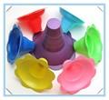 oz 12 colorido afeitado de hielo flor partido tazas tazas de flor de nieve cono taza
