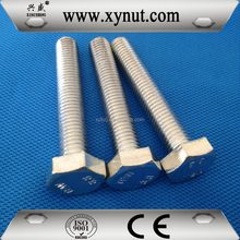 Factory Direct Sale Zinc Plated and HDG DIN933 Hex Bolt DIN931 Hex Bolt