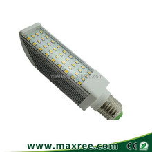New design ! 3 years warranty 7.5w 85-265v 2835SMD led G23 bulb aluminium 2pins 4 pins led light G24