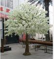 branca flor artificial de cereja de árvores made in china