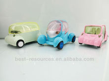 Pull Back Alloy Mode Car With IC Light