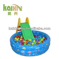 2015Kids Indoor Inflatable Plastic Slide For Ball Pool