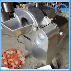 Automatic vegetable chopper/crusher production line