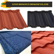 colorful stone chip coated roofing tile ceramic roof tiles factory lightweight roof tile