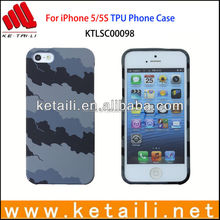 Best Selling OEM Water Imprint TPU Mobile Phone Case for iPhone 5/5S