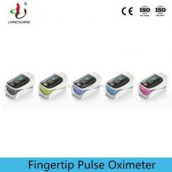 New CE Finger Pulse Oximeter SPO2 monitor low perfusion, anti-movement