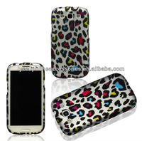 Leopard Design Colorful Hard Snap On Case Cover Faceplate Protector for Samsung Galaxy S3 S III i9300