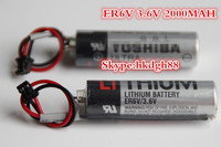 Non rechargeable Battery ER6V / 3.6V 2000MAH (AA size ) plc/cnc lithium battery