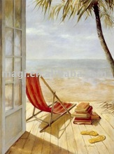 Nature Seaside Modern Oil Painting