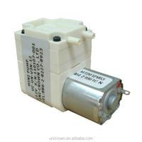 DC-V3N Micro electric vacuum pump 6V 225mmHg 0.4kgf/cm2 1.8LPM 2W 0.04kg