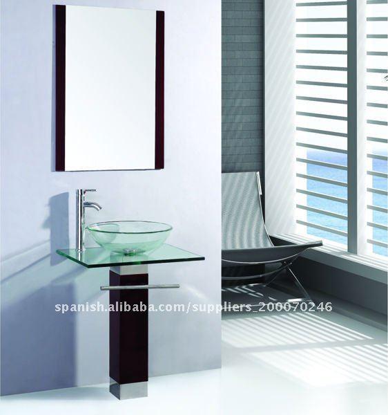 Lavabos Para Baños Cristal:Clásico diseño de cristal lavabo TB017