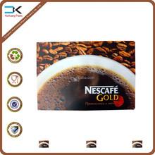 Nescafe advertising pp plastic table mat, cheap promotion placemat