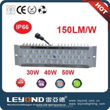 High quality COB high power led module 12v solar 30w led street light with Meanwell LED driver