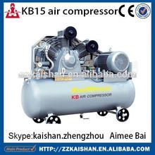 Kb15 de pistón compresor de aire industrial precio/portátil compresor de aire industrial precio para pet utiliza 20hp/15kw