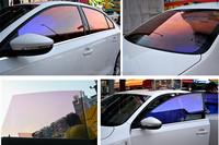 Chameleon windows tinting solar film car glass protection chameleon car window film