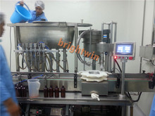 automatic black seed oil bottle filling capping machine with CE ISO9001