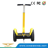 Yellow electric scooter two wheels Self balance scooters 1000w DC brush motor