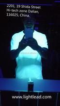 Excited by UV light used in bar fans t shirt, wholesale in low price!!!