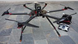foldable design carbon fiber big professional Octocopter camera drone