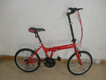 Latest comfortable folding bike from china easy ride folding bicycle with steel folding bike frame
