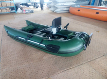 Made in China 300cm PVC frameless inflatable pontoon boat