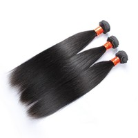 18 inch 3 pcs lot Promotion Cuticle Machine Weft Human Cambodian Hair
