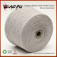 Cangnan eco friendly ne 12/1 blended gloves yarn in china