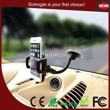 360 Degree Adjustable Flexible Gooseneck Suction Cup Car Holder Windshild Mount for Mobile/Cell Phone/GPS