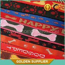 factory custom jacquard elastic webbing / tape