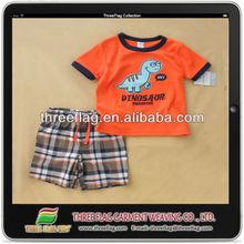 lindo 2014 ropa de bebé conjunto hecho en china