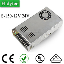 Competitive price S-150-12V 24V Single Output Switching power supply for LED Strip light smps
