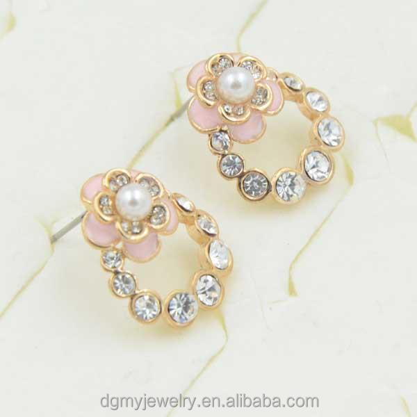 Simple Pearl Earrings Designs Simple Pearl Earring Designs