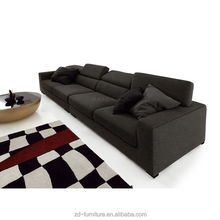 Top sale very low price fabric sofa with chaise