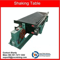 6s fiberglass gold shaking table for sale
